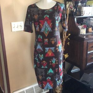 LulaRoe Julia Dress Bundle Size M Multicolored